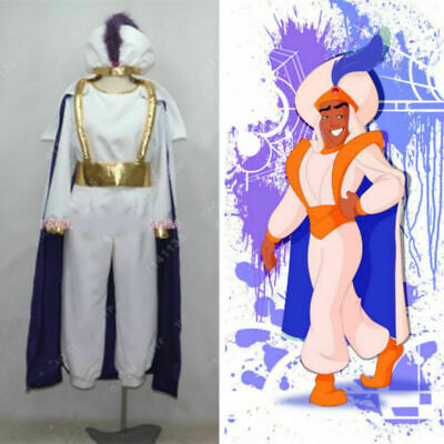Aladdin Lamp Prince Man Halloween uniform Outfit Cosplay Costume Custom Made