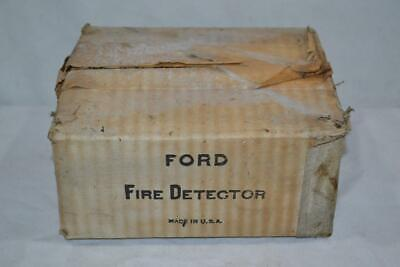 Vintage Ford Fire Detector Chrome Alarm Bell # F25 NEW OLD STOCK