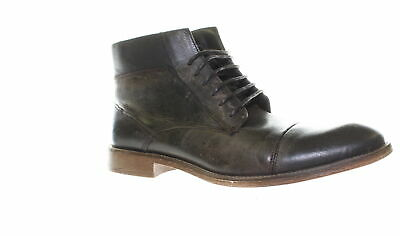 26806abd8ea STEVE MADDEN MENS Quibb Dark Brown Ankle Boots Size 11 (464805)