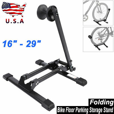 Bike Floor OneTwoFit Parking Storage Stand Display Rack Folding Holder Black