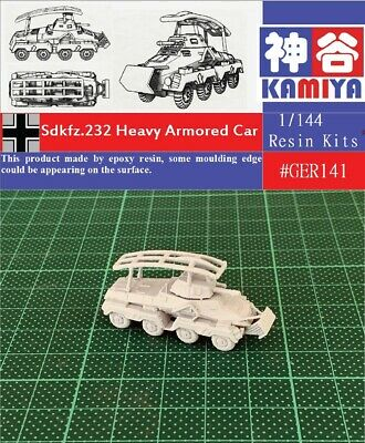 1/35 #1012 pre WWII Polish WZ-29 Armored Car Resin Kit
