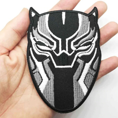Black Panther Marvel Patch for Embroidery Cloth Patches Badge Iron Sew On