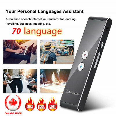 Translaty MUAMA Enence Smart Instant Real Time Voice 70 Languages Translator CA