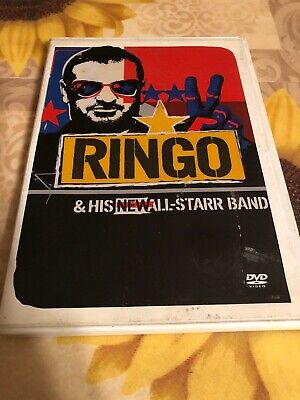 Ringo and His New All-Starr Band (DVD, 2002) Ringo Starr Roger Hodgson RARE OOP
