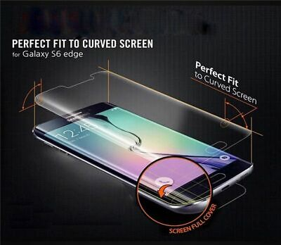 Full Coverage Explosion Proof Soft TPU Screen Protector For Galaxy S6 Edge