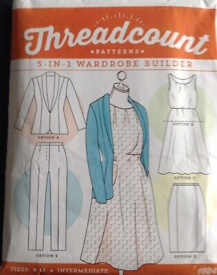 Dress Threadcount 1604 New Pattern Jacket Tunic Sizes 8-16 Skirt /& Trousers