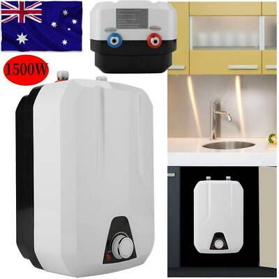 1500W 8L Portable Instant Electric Hot Water Heater System Under Sink Faucet Kit