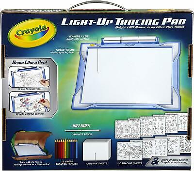 Crayola Light-Up Tracing Pad, Drawing Kit for Kids Ages 6 & Up