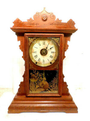 NICE RARE SETH Thomas Antique 8 Day Westminster Sonora Chime Gothic