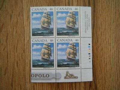 Canada#1779 MNH LR Corner Block 'Sailing Ship-Marco Polo' Lot#SS13