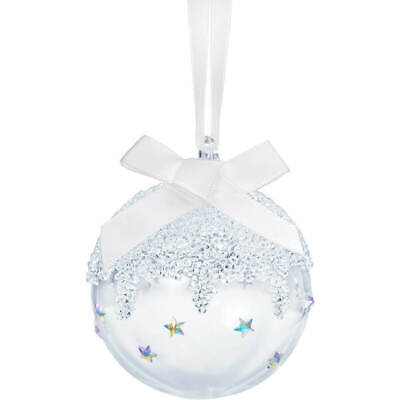 Swarovski CHRISTMAS BALL ORNAMENT, SMALL 2019 l 5464884 Not Dated