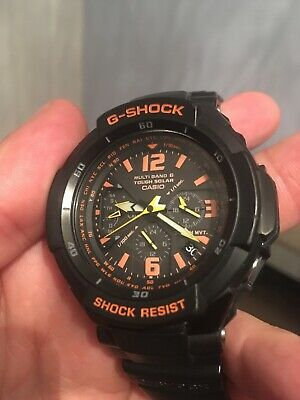 finest selection 0d48b b6b45 CASIO G-SHOCK GRAVITY Defier Alarm Chronograph Radio Controlled Watch  GW-3000B