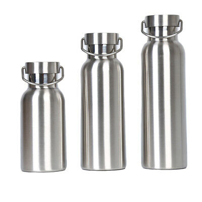Stainless Steel Insulated Cup Coffee Tea Thermos Mug Travel Vacuum Flask W