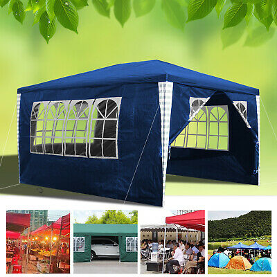 Waterproof Outdoor Garden Marquee Awning 3mX4m Canopy Shelter Gazebo Party Tent
