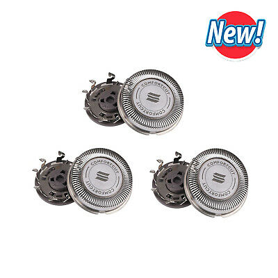 3PCS Shaver Head Replaces Blade for SH30/52 Series 3000 2000 1000 S738