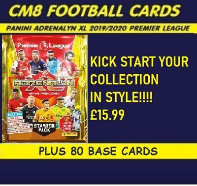Panini Adrenalyn XL Premier League 2019 2020 Starter Pack + 80 cards.IN STOCK
