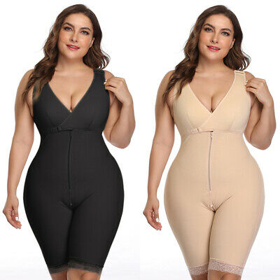Plus Size Womens Body Shaper Shaping Corset Underwear Tummy Control Shapewear UK