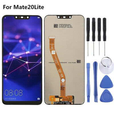 Per Huawei Mate 20 Lite LCD Display cellulare Touch Screen Schermo nero