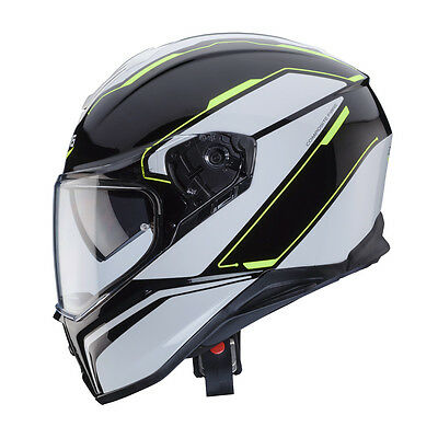 Integral Helm caberg Drift Tour Black - White - Yellow Fluo Größe M
