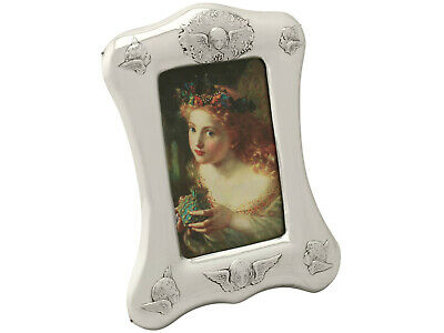 Antique Victorian Sterling Silver Photo Frame William Comyn & Sons London