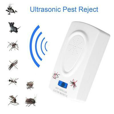 Ultrasound Mouse Cockroach Repeller Insect Mosquito Killer Pest Reject Hot