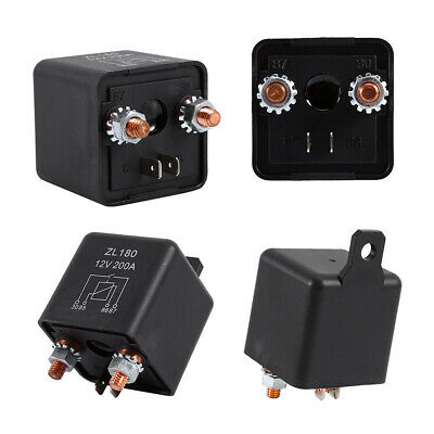 12V/200A Heavy Duty Split Charge ON/OFF Switch Relays Car Auto Boat 200Amp Uk