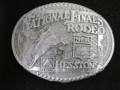 1998 Hesston National Finals Rodeo adult belt buckle