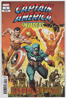 Captain America and The Invaders #1 1:25 Zircher Variant Marvel 2019 VF/NM