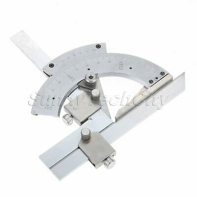 Universal Bevel Protractor 0-320° Precision Angle Measuring Finder Ruler Tools