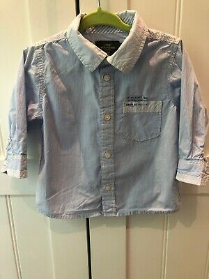 Baby boys 6-9 months Blue Shirts LOGG by H&M