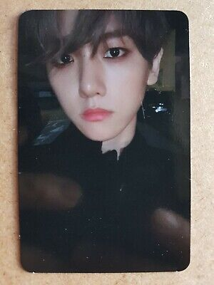 BAEKHYUN #4 Authentic Official PHOTOCARD CITY LIGHTS 1st Album EXO DAY NIGHT 백현