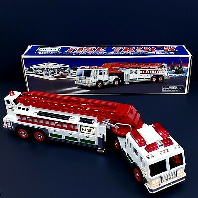 Vintage Hess Fire Truck 2000 Toy Truck Collectible