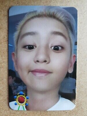 EXO-SC CHANYEOL #1 Authentic Official PHOTOCARD [WHAT A LIFE] 1st Mini Album