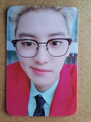 EXO-SC CHANYEOL #3 Authentic Official PHOTOCARD [WHAT A LIFE] 1st Mini Album