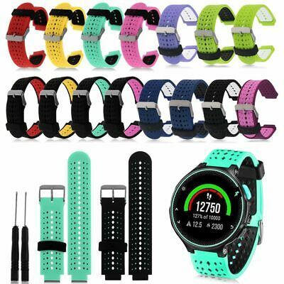 For Garmin Forerunner 220 230 235 620 630 735XT Silicone Watch Band Wrist Strap
