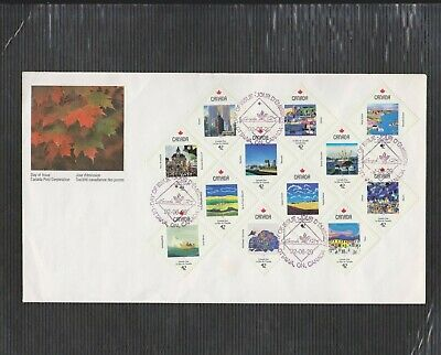 Canada FDC 1992,Canada Day Large Format