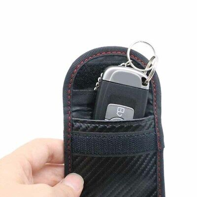 Auto Car Key Signal Blocker Case Keyless Entry Fob Guard Pouch Bag RFID Blocker
