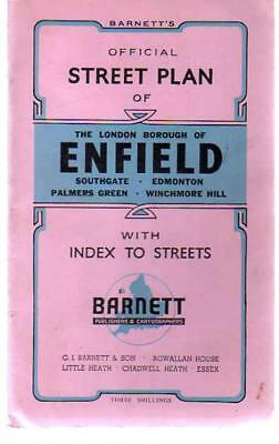 Barnett's Official Street Plan of Enfield, Anon