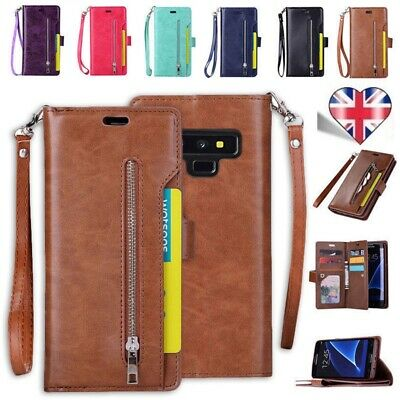 Case Cover For Samsung Galaxy S8 S9 S10 Plus S7 Edge Leather Wallet Book Phone W