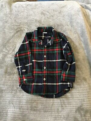 Baby Boys Gap Flannel Shirt Size 2 Years 2T