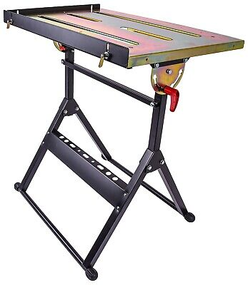JEGS 81780 Welding Table (5) Adjustable Positions 350 lb. Capacity Tabletop Dime