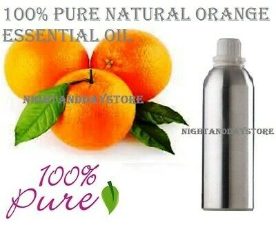 Essential Oil Orange Pure 100% Natural Therapeutic Aromatherapy (5 ml -500 ml)
