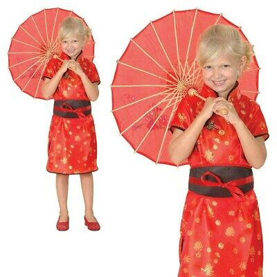 Chinese Geisha Girl Costume China Oriental Girls Child Fancy Dress Kids Outfit