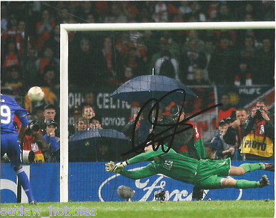 Manchester United Edwin Van Der Sar Autographed Signed 8x10 Photo COA B