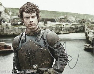 Alfie Allen Game of Thrones Autographed Signed 8x10 Photo COA