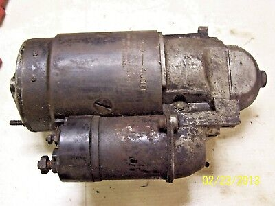 1964 1965 DELCO STARTER # 1107259 DATED 4JI8, bench tested