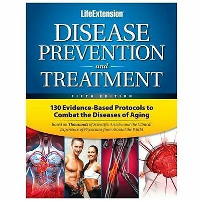 Disease Prevention and Treatment by Life Extension Foundation HARDCOVER Book NEW