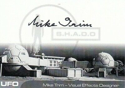 UFO - MIKE TRIM (MT1) - VERY LIMITED Autograph Card - SPECIAL
