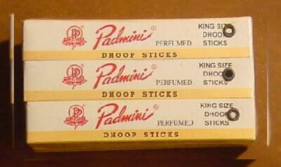 """Padmini Dhoop Sticks - 12 Boxes of 10 Each - 5"""" King Bown"""