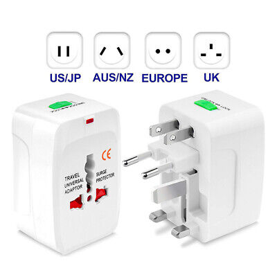 6A240W Adaptador de Corriente Enchufe Convertidor Viajes Europeo GB a Ue Europe2